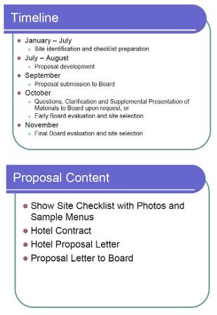 Specialty Proposal Process